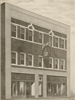 Site of Pearson Law Office - Royal Knights of King David Building, 1922.    Courtesy of Open Durham. Originally from Duke Rare Book and Manuscript Collection. Scanned by Digital Durham.