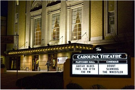 Carolina Theater, front view